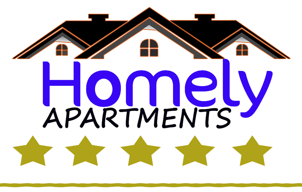 Logotipo Homely Apartments